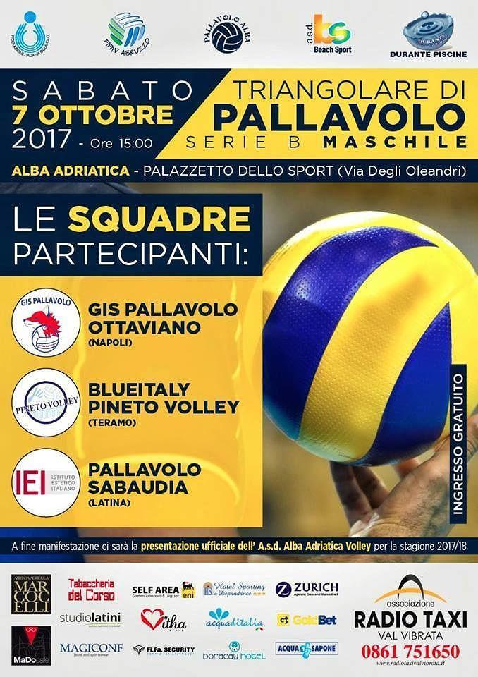 Alba Adriatica, pallavolo: triangolare con squadre di serie B e presentazione della squadra