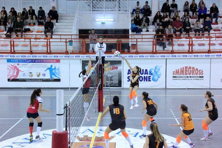 Volley, Città Sant'Angelo cade contro Collecorvino