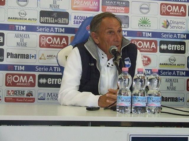 """Il Pescara a Salerno, Zeman: """"Non dobbiamo aspettare"""" VIDEO"""