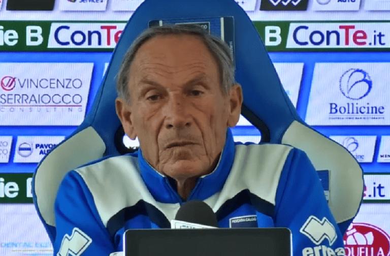 """Pescara-Perugia, Zeman: """"Possiamo fare di più"""""""