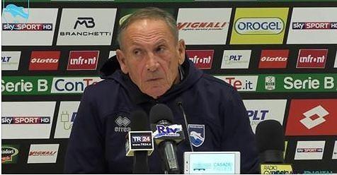 """Pescara in picchiata, Zeman: """"Io sono tranquillo""""-VIDEO"""