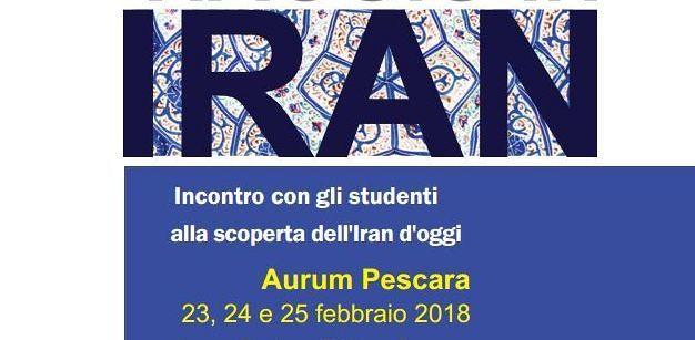 Pescara, 'Viaggio in Iran': incontro con gli studenti