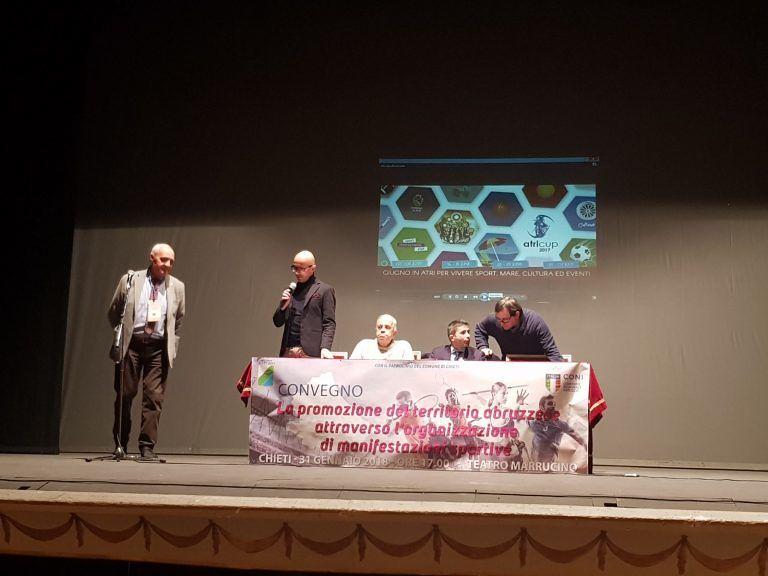 Lo sport come promozione del territorio, Roseto protagonista al Convegno di Chieti