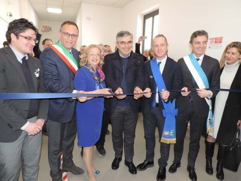 Pescara, inaugurate le aule nella sede centrale del De Cecco