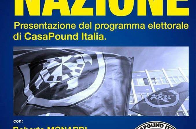 Giulianova, Potere al Popolo avvisa Mastromauro: 'nessuno spazio a Casapound'