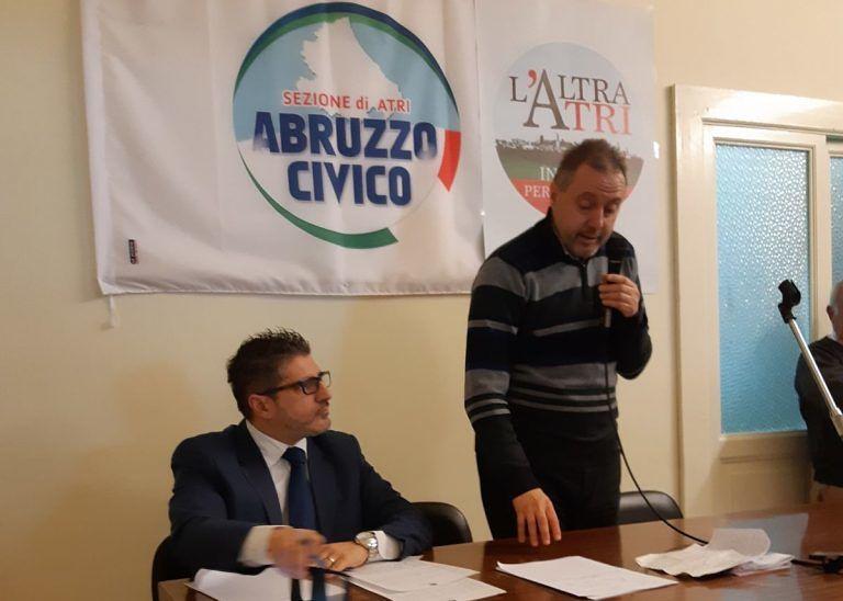 Elezioni, Abruzzo Civico aderisce al Movimento L'Altra Atri