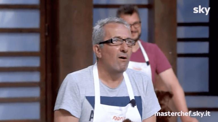 """MasterChef, il pescarese Fabrizio elogia i """"teramani"""": """"Prima civiltà italiana"""""""