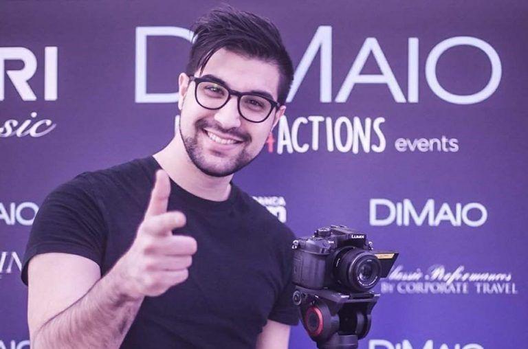 Regista e videmomaker di Martinsicuro premiato a Sanremo