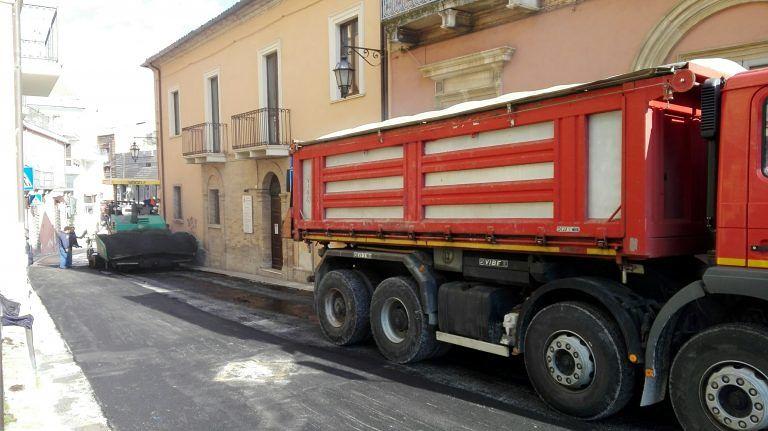 Giulianova, voragine via Bindi: riapre la strada