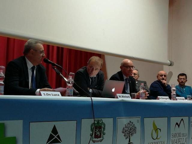 Numeroso pubblico e relatori di calibro nazionale a 'L'oro verde di Casoli'