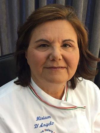La chef di Lanciano Miriam D'Angelo conquista Sanremo