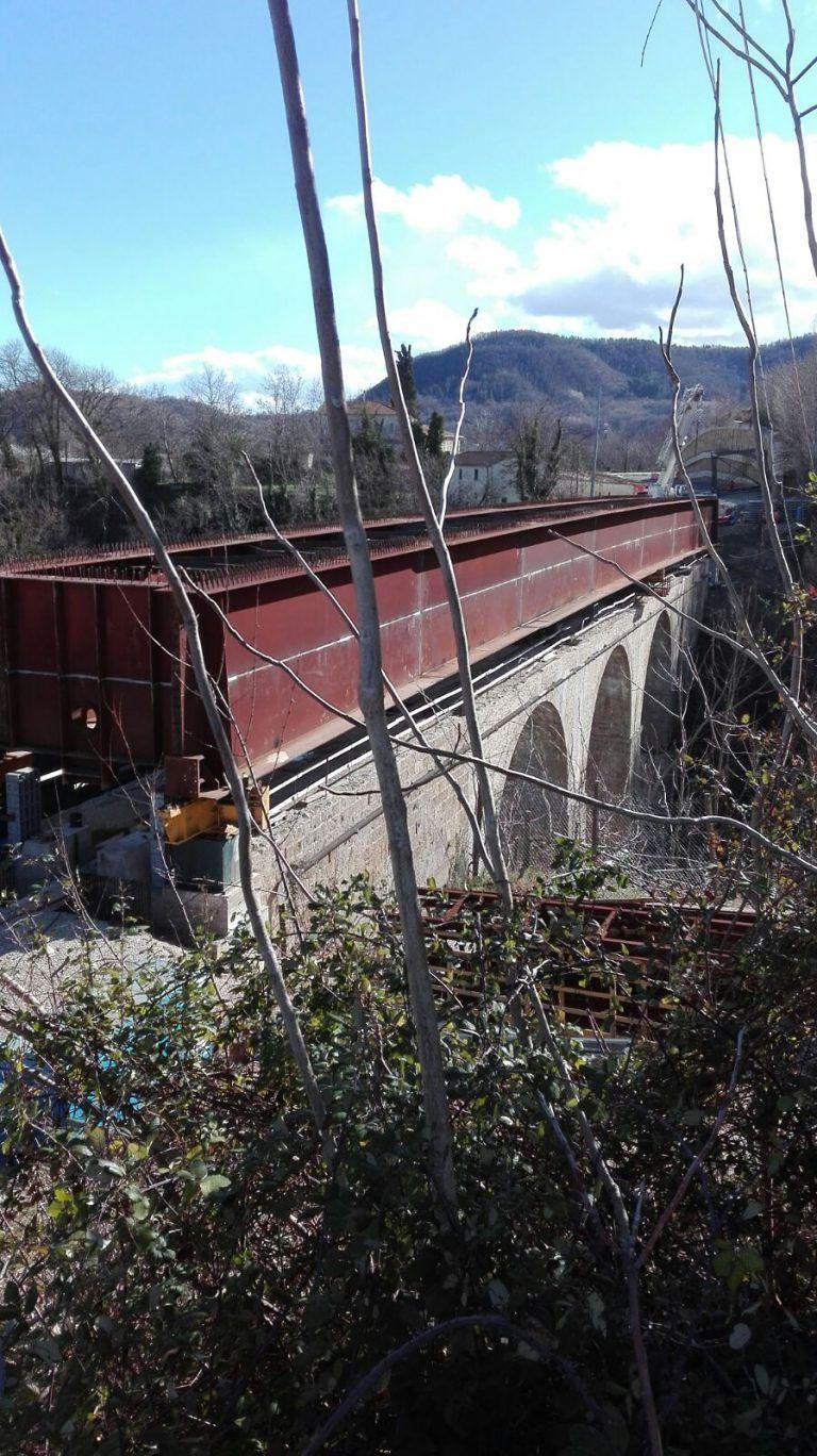 Civitella del Tronto, ponte dello Stregone: tempi di riconsegna ancora lunghi FOTO