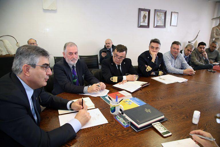 Pescara, taglio diga foranea: il Presidente D'Alfonso fa il punto sui lavori