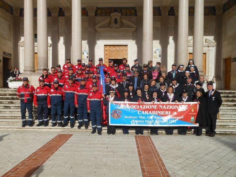Roseto, Quaresima di solidarietà con l'associazione nazionale carabinieri