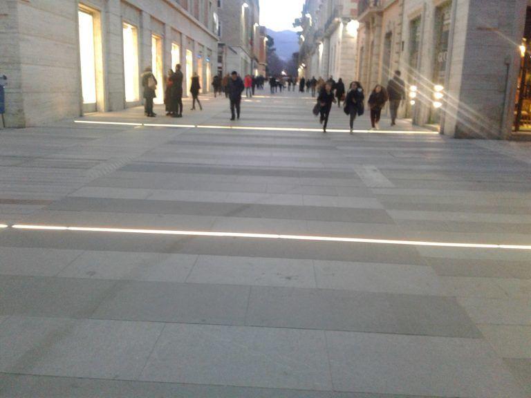 Teramo, le nuove luci di Corso San Giorgio FOTO