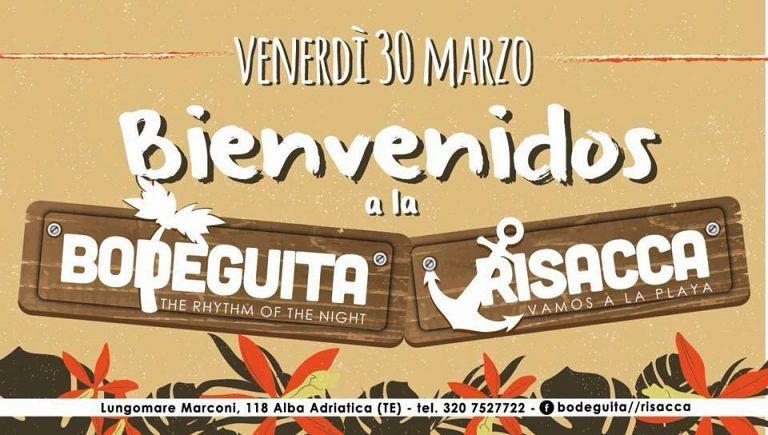 Bodeguita//Risacca: Grande riapertura VENERDI' 30 MARZO  Alba Adriatica