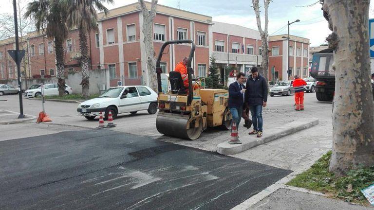 Pescara, lavori in viale Pindaro: da domani torna il doppio senso