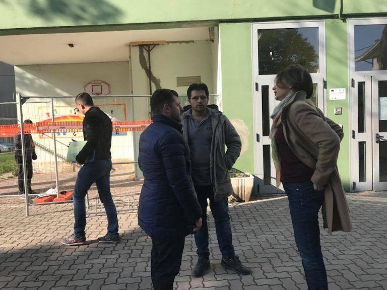 Pescara, lavori di manutenzione alla scuola Don Milani: il sopralluogo FOTO