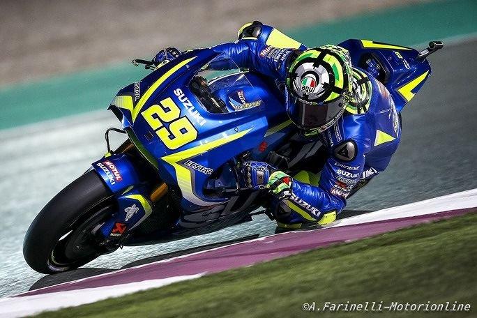 MotoGP, Iannone chiude nono in Qatar