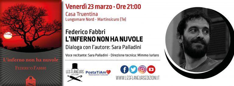 """Martinsicuro, il nuovo libro di Federico Fabbri per la rassegna """"Primavera d'autore"""""""