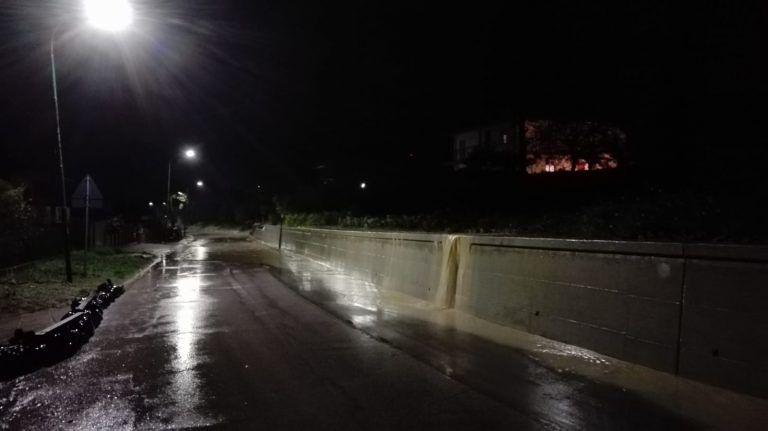 """Pineto: """"Per tre ore di pioggia, Scerne disagiata. Sistema di raccolta delle acque non all'altezza"""""""