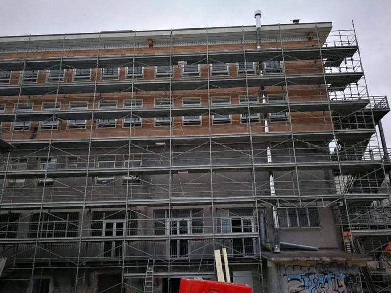 Penne, Liceo Mario dei Fiori: proseguono i lavori per l'adeguamento sismico