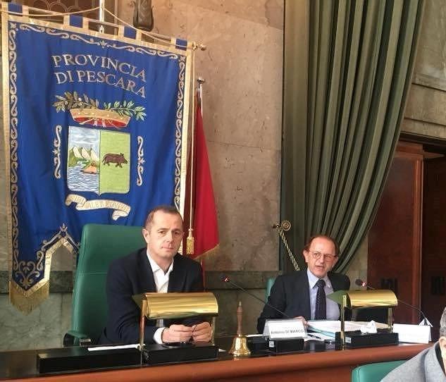 Pescara, la Provincia approva la diminuzione del canone per la COSAP