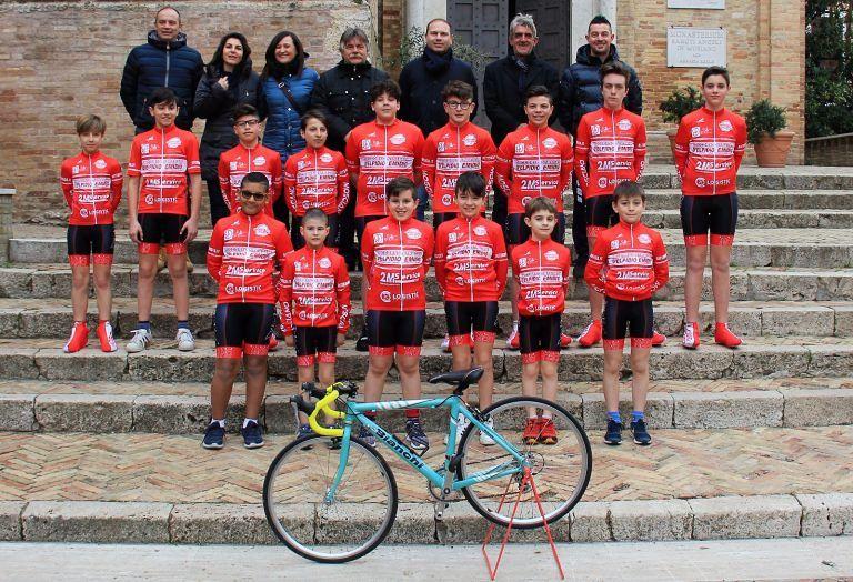 Ciclismo, presentata la squadra giovanile della A.S.D. Mosciano Ciclistica