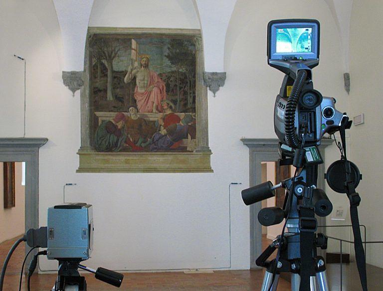 L'Aquila, ultimato il restauro della Resurrezione  di Piero della Francesca