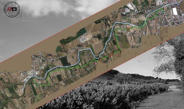Alba Adriatica, ciclabile sul Vibrata: l'avvio degli espropri anticipa l'apertura del cantiere