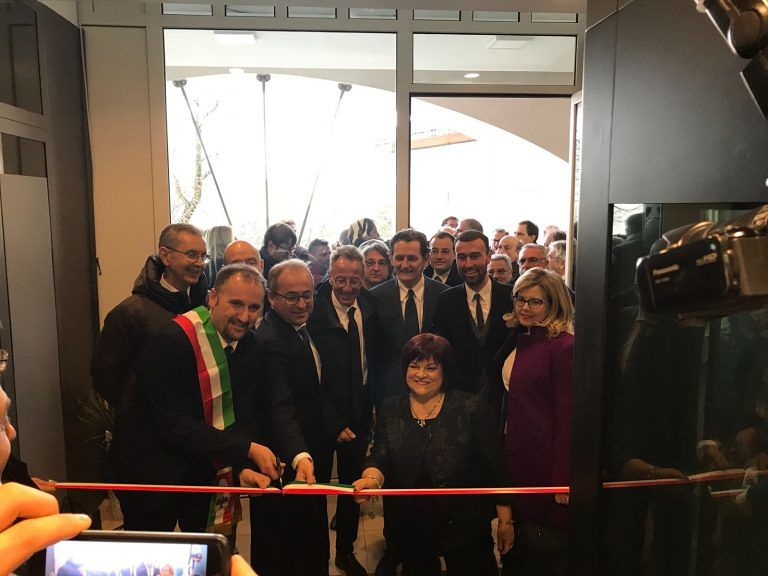 L'Aquila, inaugurata la sede distaccata della Banca del Gran Sasso