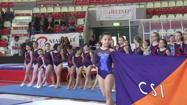 A Teramo la quinta edizione del campionato di ginnastica del Csi