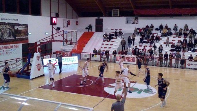 Basket, derby al cardiopalma: Giulianova-Campli 75-74