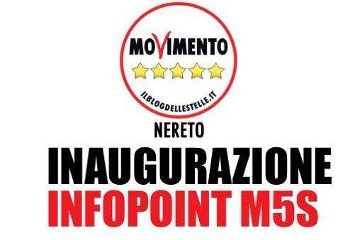 Nereto, i neo-parlamentari M5S inaugurano l'infopoint