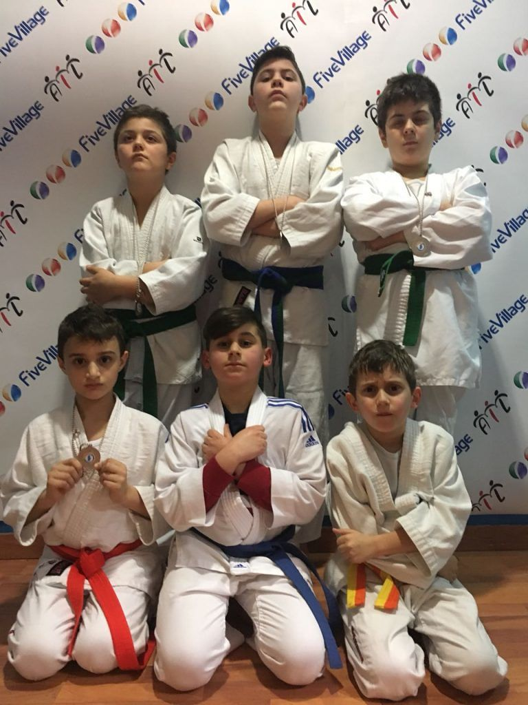 Martinsicuro, judo Atri Cup: ottimi risultati per la Sport Village