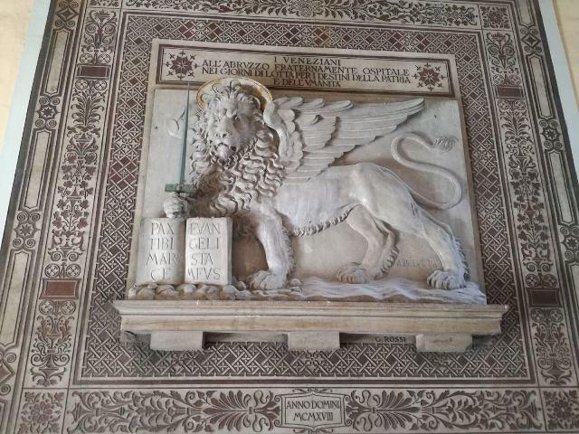 Cento anni del Leone di San Marco: si lavora per un Patto di Amicizia tra le città Chieti e di Venezia