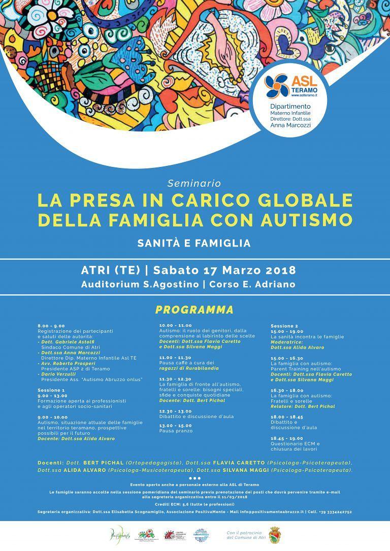 Atri, un seminario sull'autismo