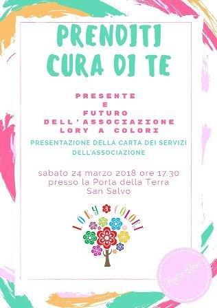 San Salvo, Marzo Rosa: 'PrendiTi cura di TE' con l'associazione Lory a colori
