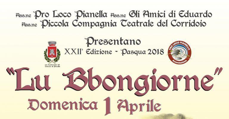 Pianella, tutto pronto per 'Lu Bbongiorne'