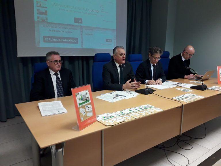 Biblioteche, l'Abruzzo aderisce al progetto Media Library online VIDEO