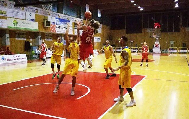 Basket C Silver, Tasp a caccia di riscatto contro l'Olimpia Mosciano