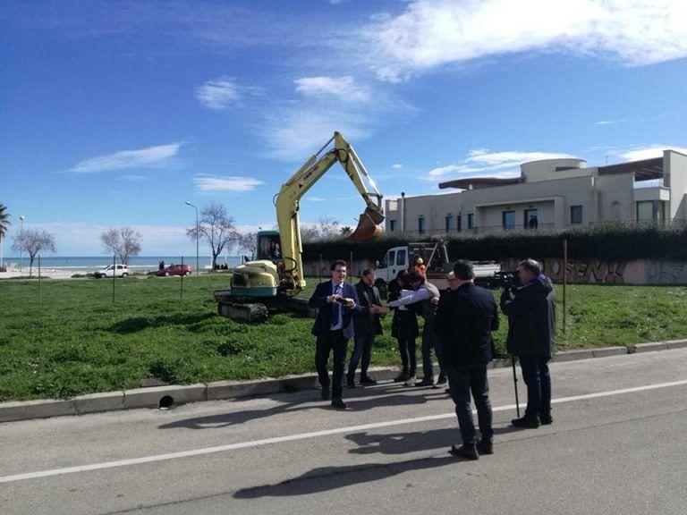 Pescara, partono i lavori sulla riviera sud
