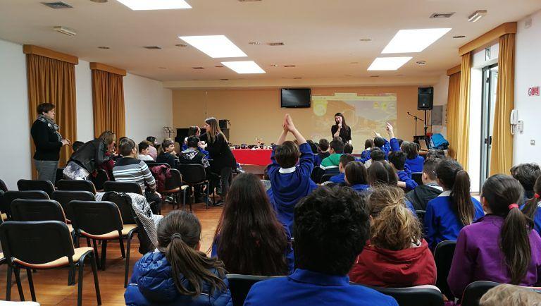 Montesilvano, Waste Travel 360: i bambini a lezione di riciclo