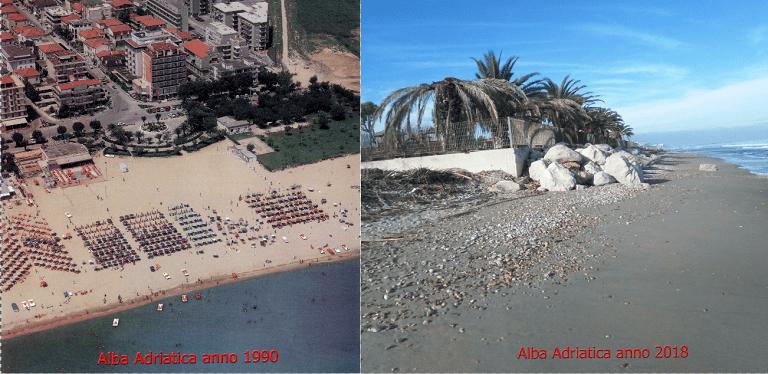 Alba Adriatica, le controdeduzioni al progetto pennelli: l'esposto del 2014
