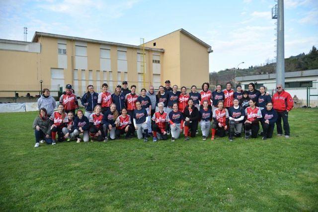 Softball Chieti: con le amichevoli contro Berlino, prende il via la stagione dell'Atoms'