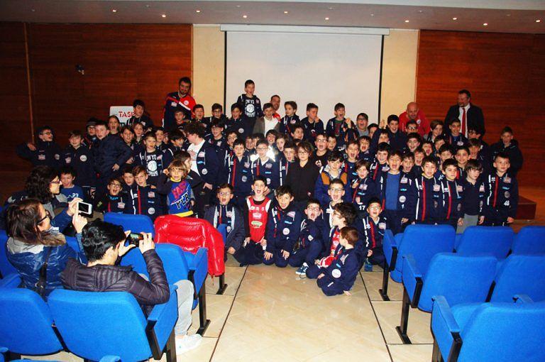 Teramo, 200 piccoli atleti al terzo appuntamento con il Tasp Cine Club