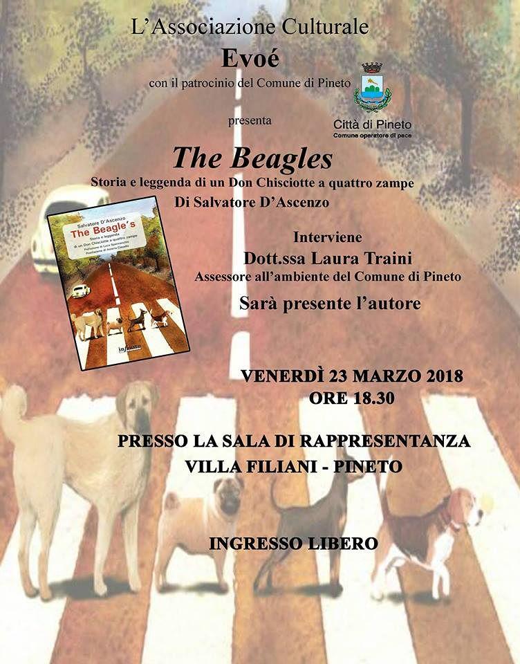 """Pineto, Salvatore D'Ascenzo presenta il suo libro sui cani: """"The Beagle's"""""""
