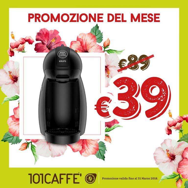 Dolcegusto Piccolo a 39€ invece che 89€ presso 101 caffè| San Bendetto del Tronto