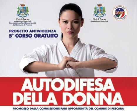 Pescara, corso di autodifesa gratuito per donne: iscrizioni aperte