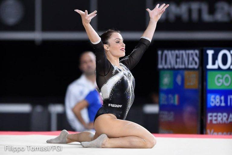 Vanessa Ferrari a Teramo per gli allievi di ginnastica